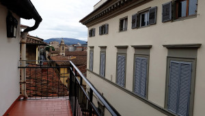 View from the Grand Amore Hotel and Spa in Florence, Italy