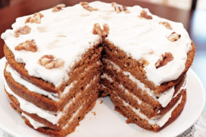 Maple Walnut Cream Cake